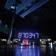 COWNTDOWN JAPAN LED CLOCK
